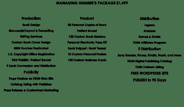 Managing Member Package