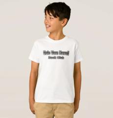 EVH Boy's T Shirt Front