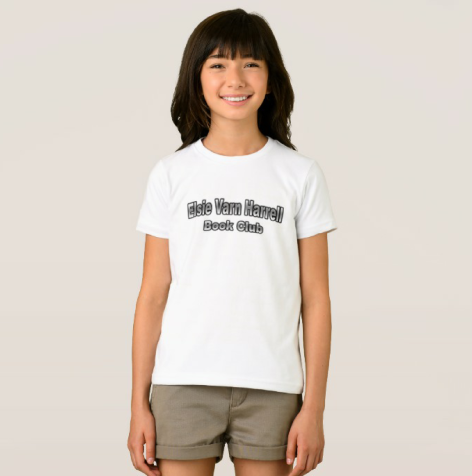 EVH Girl's T Shirt Front